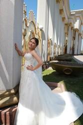 Свадебное платье! Цвет - айвари!