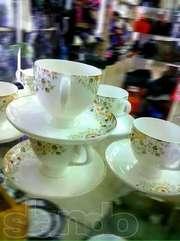 Фарфоровые чайные кружки