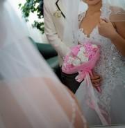 Красивое свадебное платье за хорошую цену